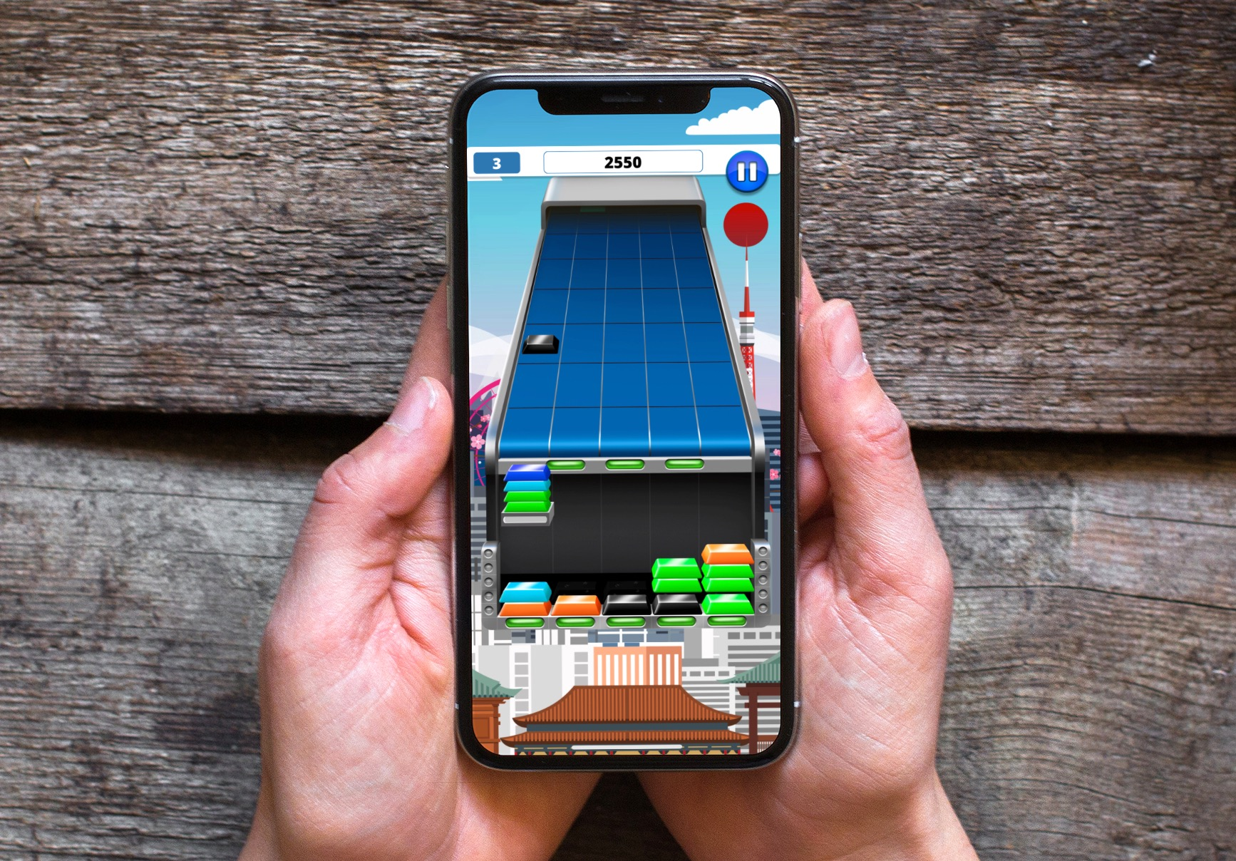 Mix de Tetris et de Puissance 4, la stratégie et l'action d'Ingot Rush font mouche sur iPhone, iPad 1