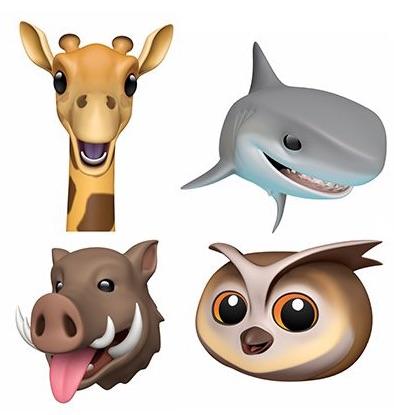 Plusieurs nouveaux Animojis en vue dans iOS 13 1