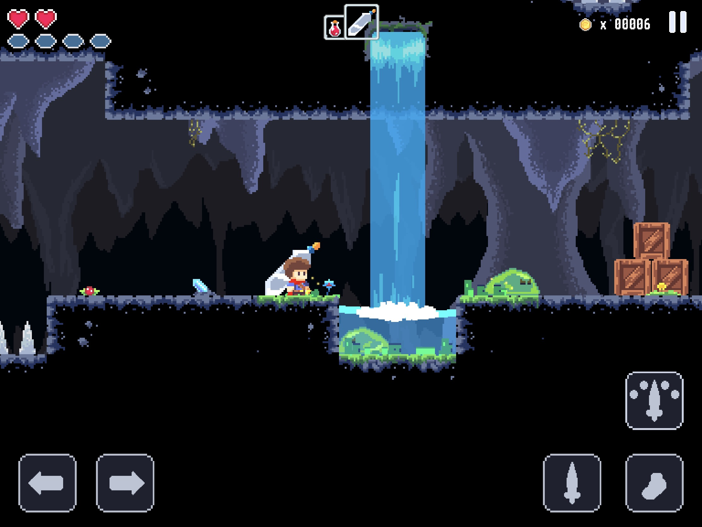 JackQuest : ambiance et mécanique rétro font mouche dans ce nouveau jeu de rôle et d'action iPhone, iPad 1