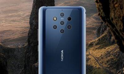 Nokia présente son smartphone aux 5 objectifs : Nokia 9 Pureview 1