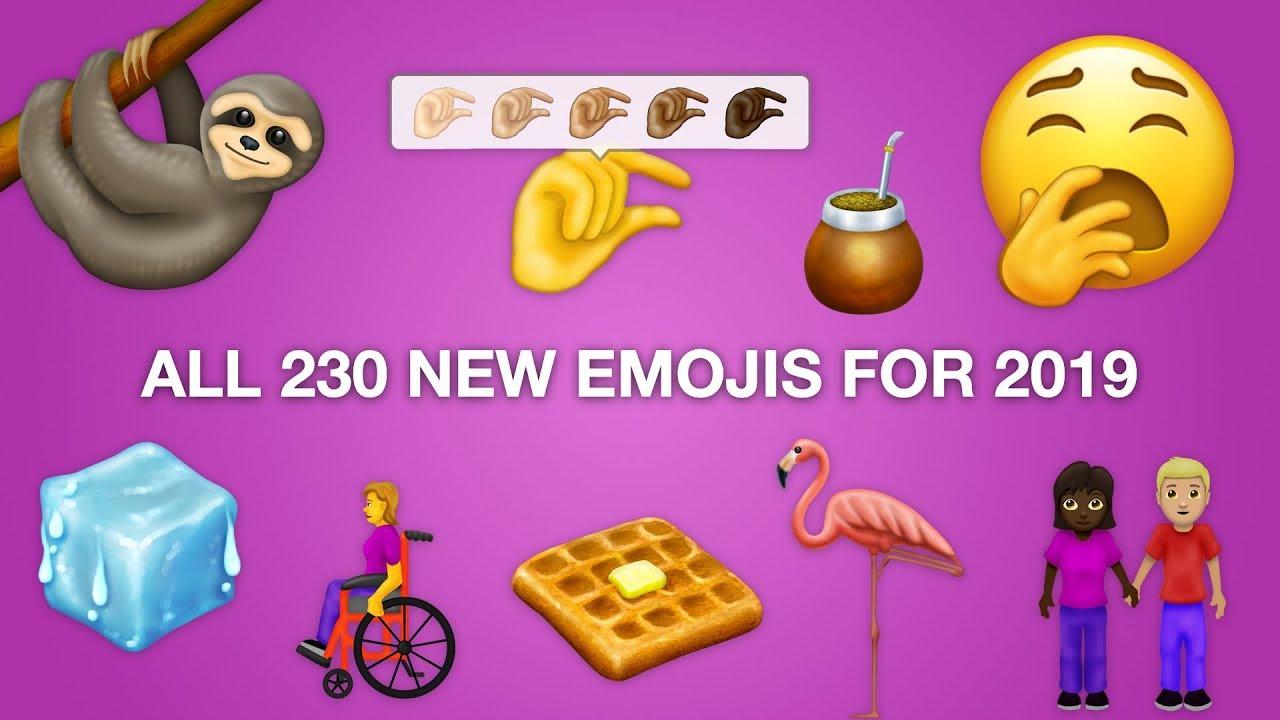 Découvrez les prochains emojis : prévus pour 2019 1