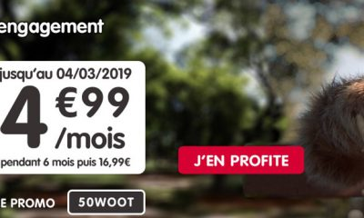 Nouvelle promo forfait NRJ Mobile : illimité + 50 Go à 4,99 €/mois 25