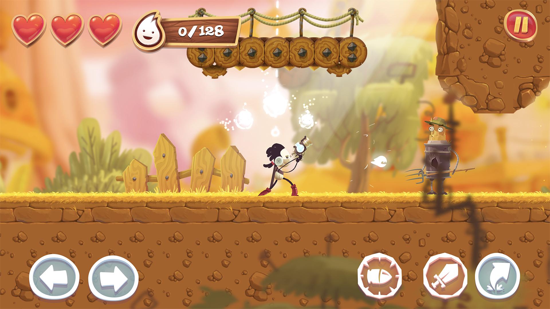 Test Spirit Roots : jeu de plateforme façon Rayman, graphismes séduisants et support des manettes iPhone, iPad 1