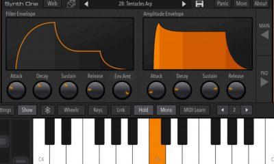 Après sa sortie iPad, le synthétiseur gratuit Synth One désormais compatible iPhone 39
