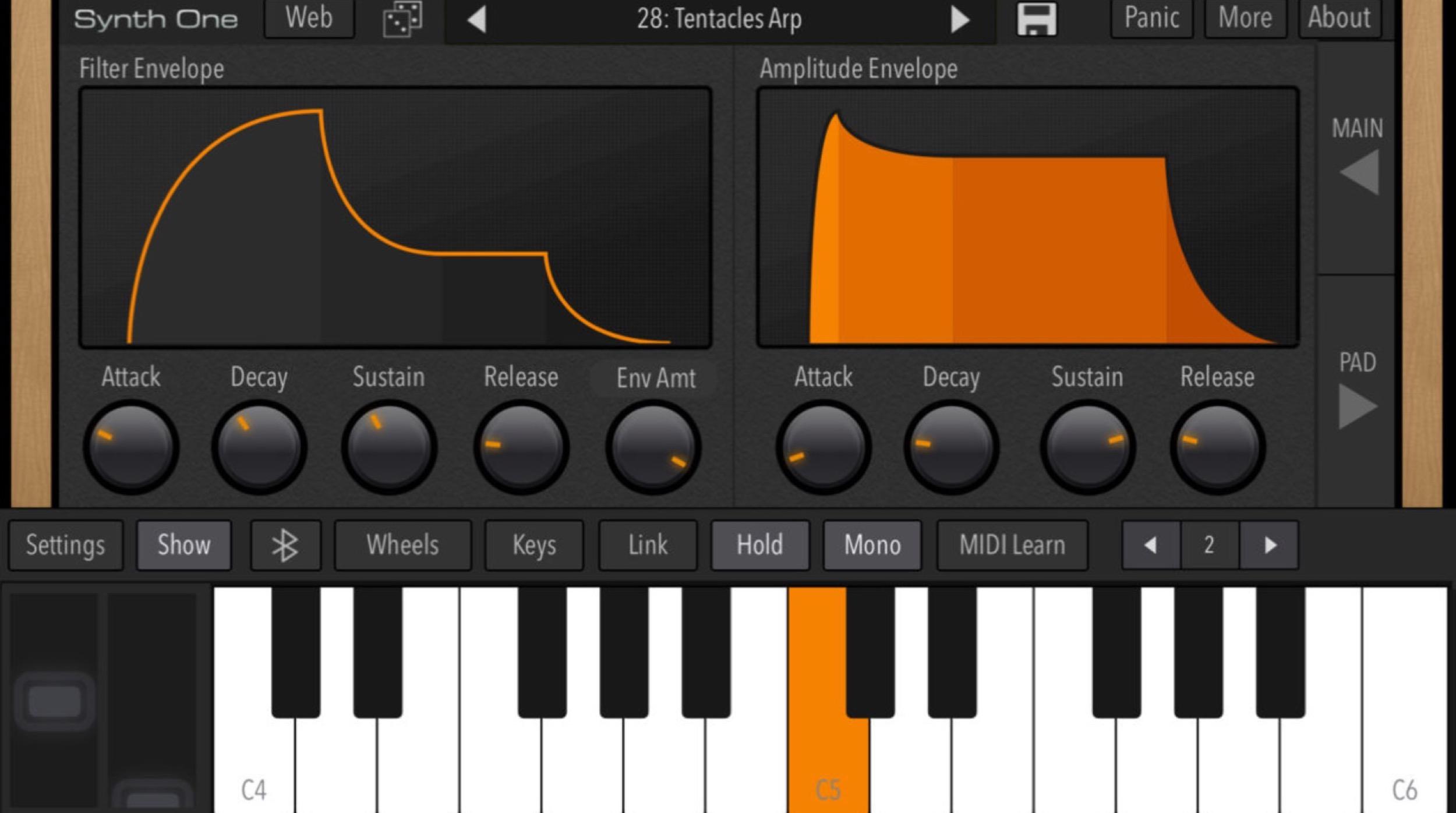 Après sa sortie iPad, le synthétiseur gratuit Synth One désormais compatible iPhone 1