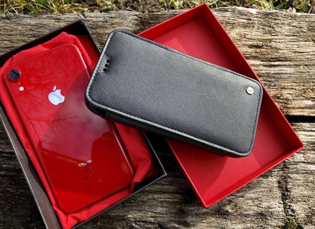 Test de l'étui/housse portefeuille Noreve en cuir pour iPhone ...