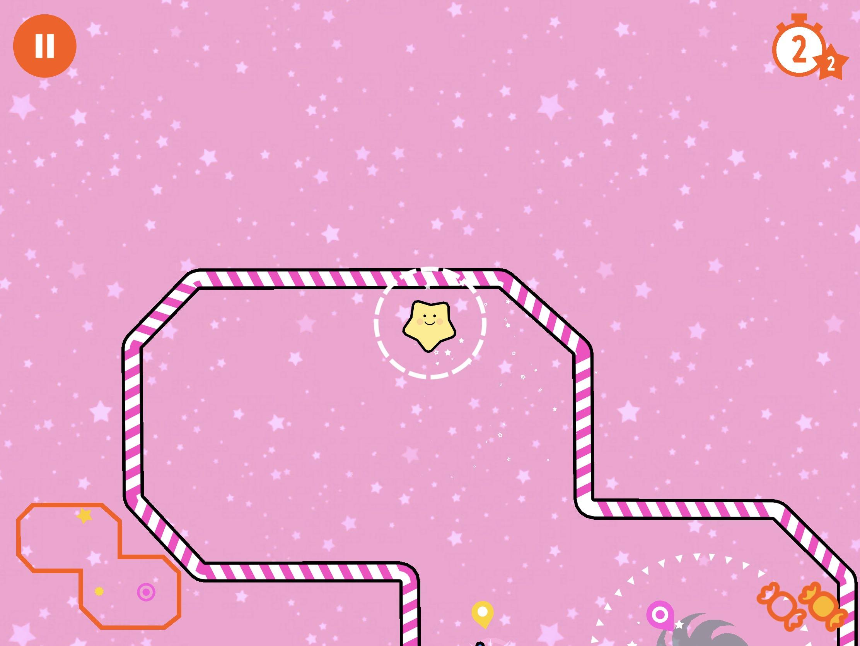 Test : du golf la tête dans les étoiles avec Little Comet, excellent jeu iOS pour petit et grands 1