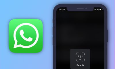 WhatsApp et Face ID