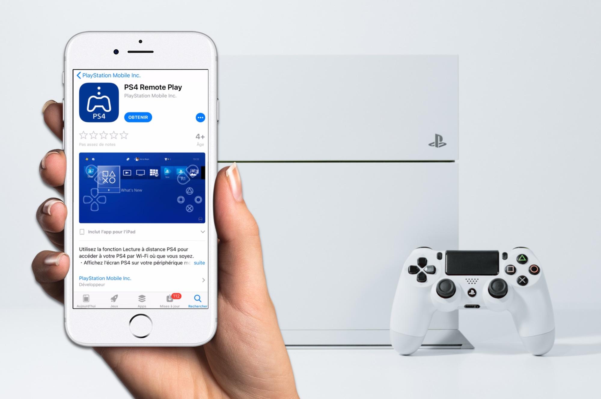 On peut désormais jouer aux jeux PS4 sur son iPhone et iPad 1