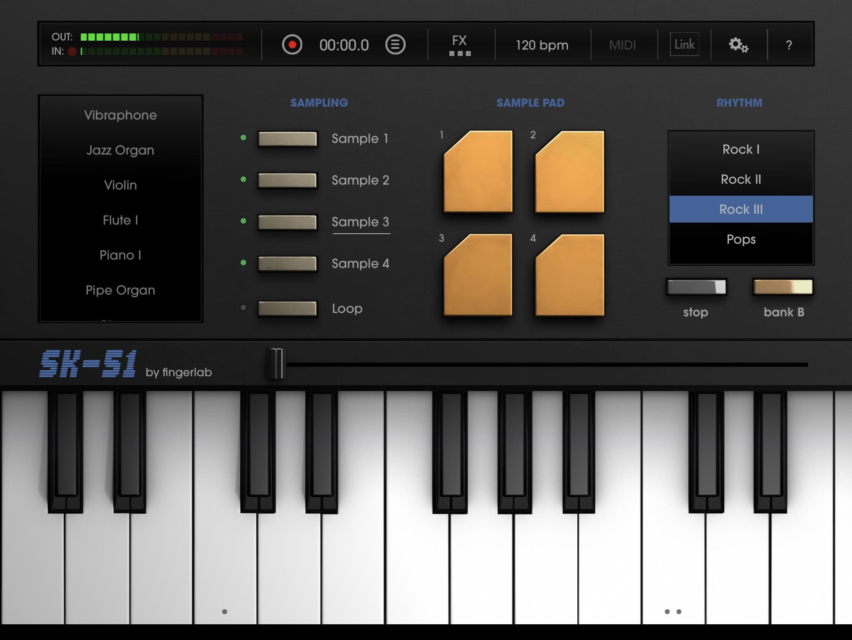 Le son des années 80 à portée de clavier virtuel : le SK-51 revit sur iPhone et iPad 1