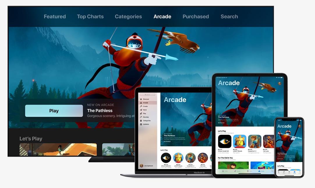 Apple prêt à investir près de 450 millions d'euros pour financer des jeux destinés à son service Arcade 1