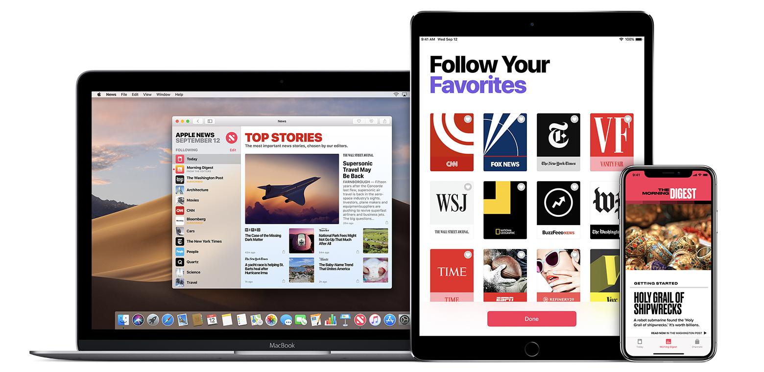 Le tarif du nouvel abonnement journaux et revues d'Apple s'annonce, mais des remous en coulisse 1