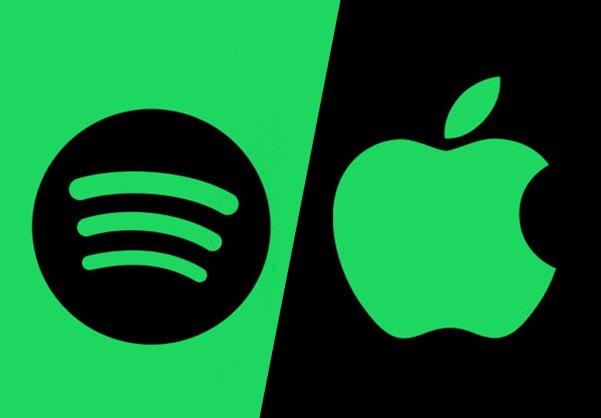 Spotify perd des abonnés parmi les célébrités, au profit d'Apple Music 1