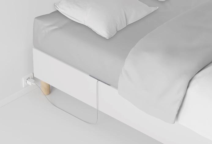 En promo -20 % / Le capteur de sommeil connecté Withings Sleep va détecter les perturbations respiratoires, dont l'apnée du sommeil 1