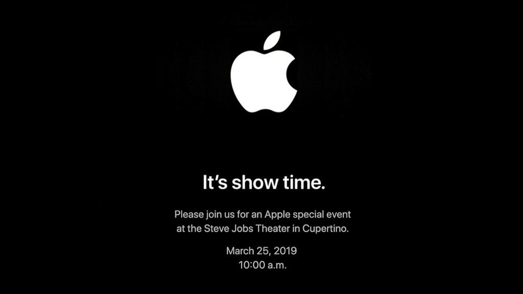 """Comment et où suivre la conférence Apple """"It's Showtime"""" du 25 mars 1"""