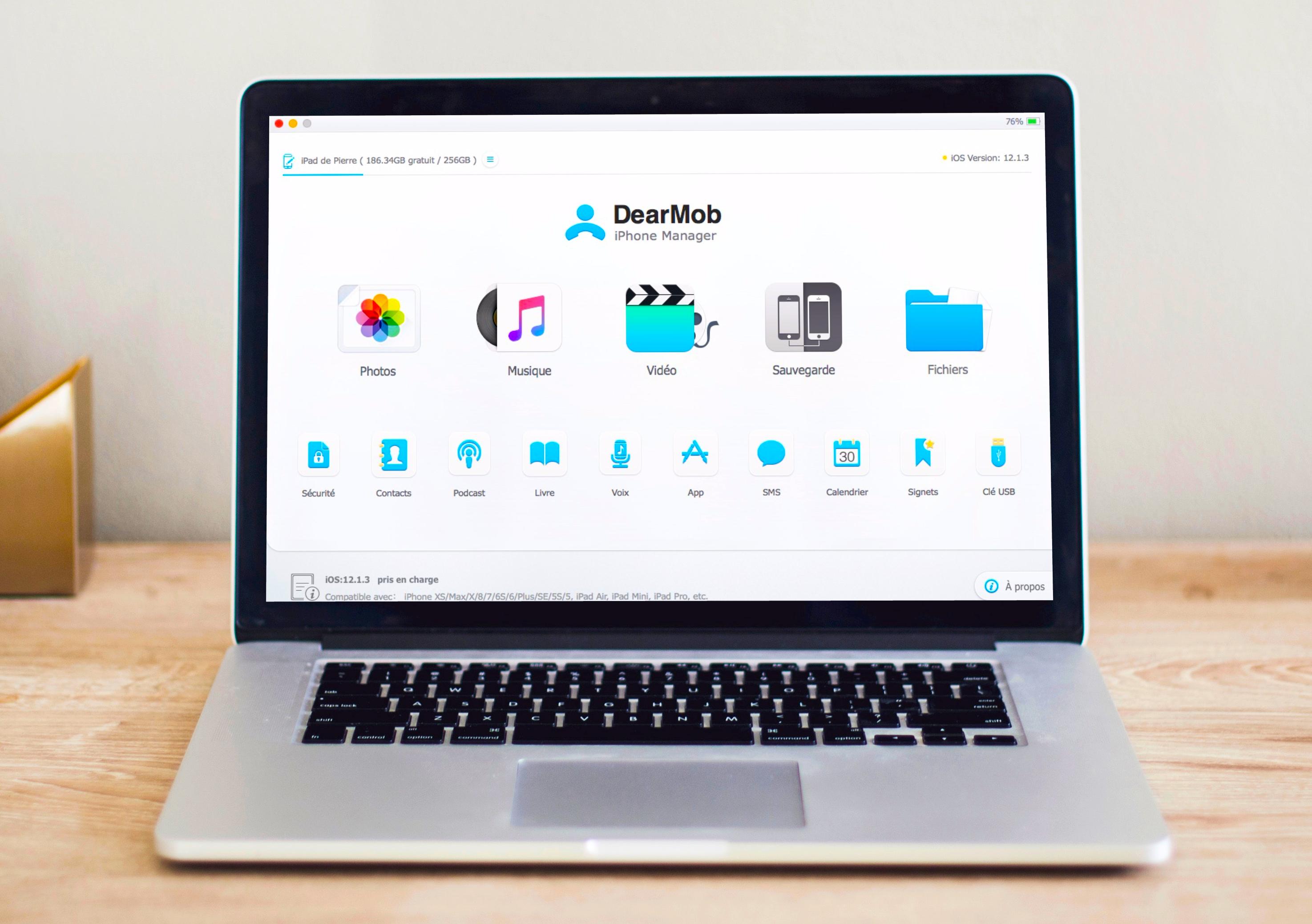 À gagner : 15 licences du gestionnaire DearMob iPhone Manager pour Mac ou PC 1