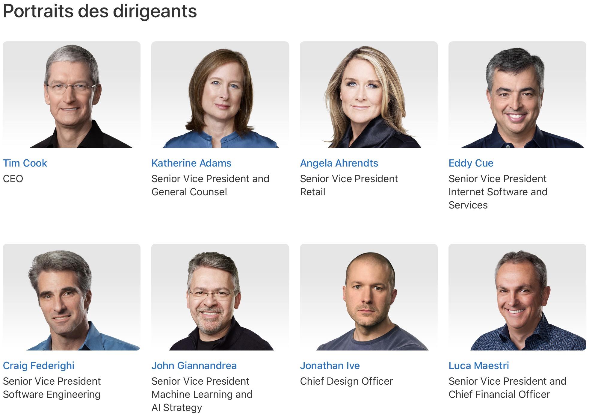 Tim Cook et d'autres hauts dirigeants d'Apple appelés à témoigner dans le procès Qualcomm 1