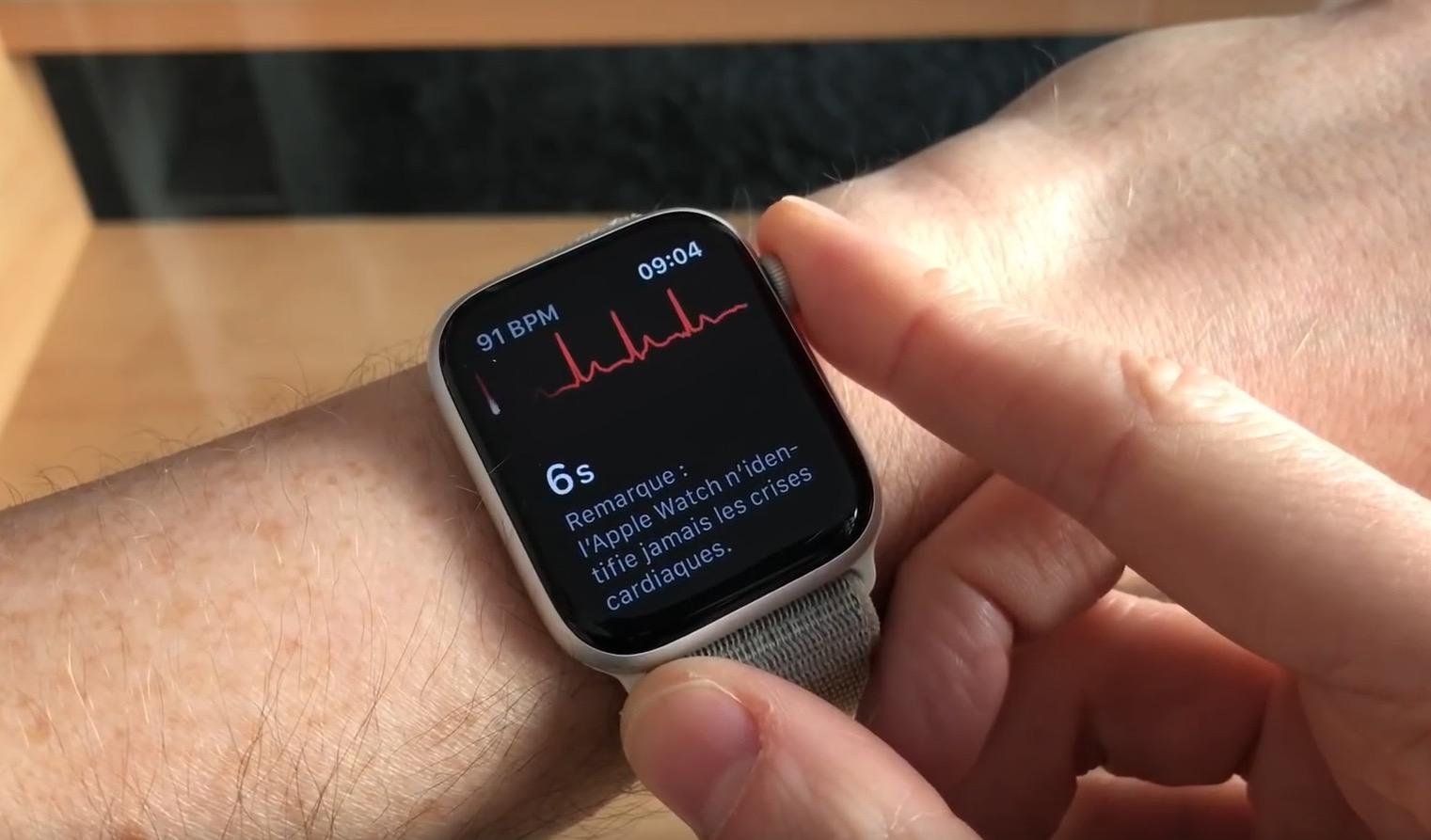 Pourquoi il faut (absolument) tester la mesure d'ECG si vous avez une Apple Watch 4 1