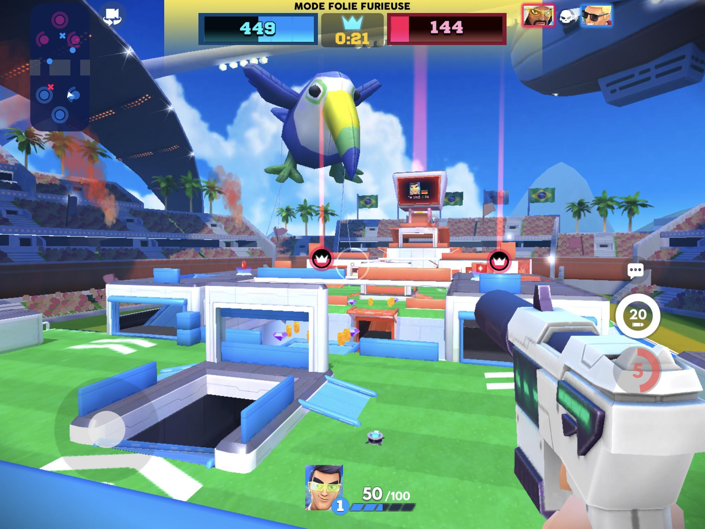 Tirs et combats d'arène acharnés dans le nouveau Frag Pro Shooter sorti sur iPhone, iPad 1
