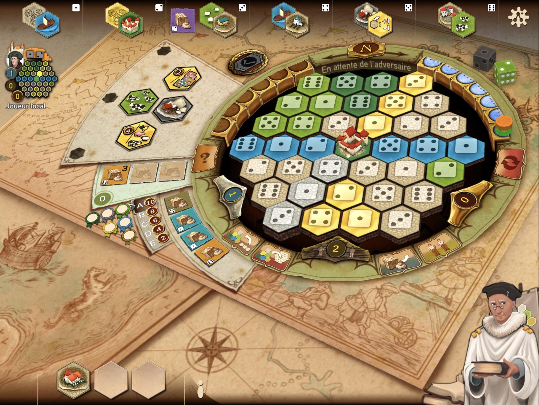 Gestion, stratégie, commerce et coups bas, Le jeu de plateau des Châteaux de Bourgogne adapté sur iOS 1