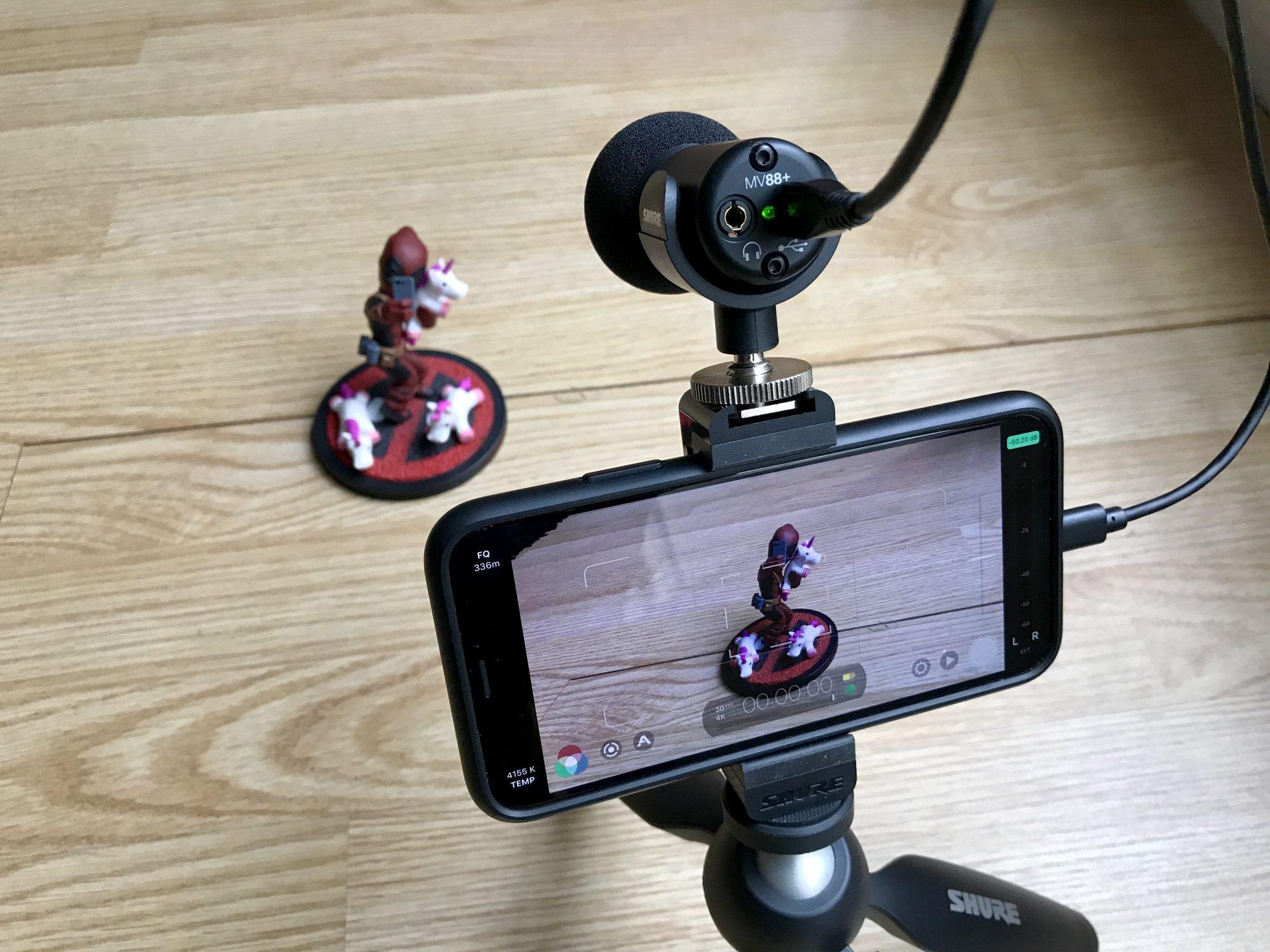 Avant son test : déballage et découverte en images du micro pour smartphone, le Shure MV88+ 1