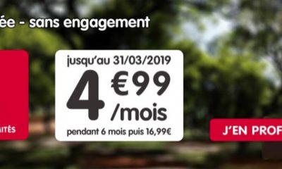 Promo forfait : illimité + 50 Go pour 4,99 € mensuels chez NRJ Mobile 17