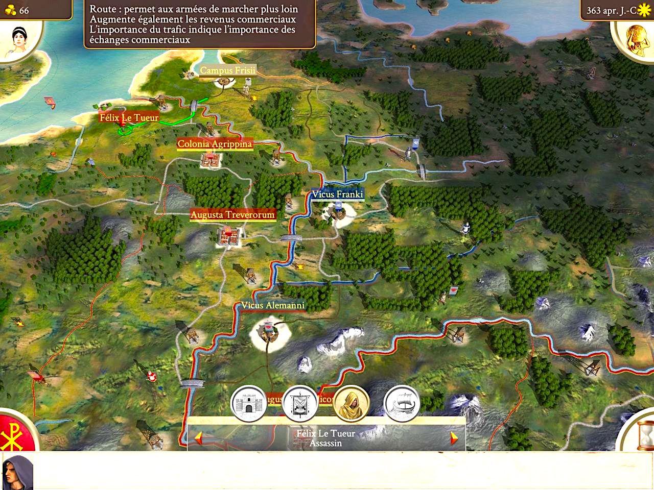 """L'extension Barbarian Invasion bientôt disponible pour le jeu """"Rome: Total War"""" sur iPhone 1"""