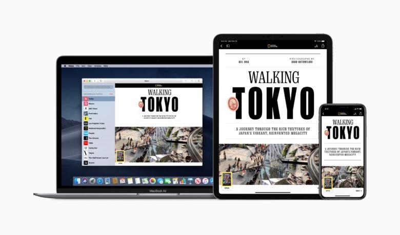 Apple News+ : tous les éditeurs ne seraient pas sur le même pied d'égalité 1