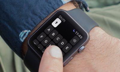 Shift Keyboard : un clavier pour l'Apple Watch, réservé aux gros utilisateurs de messages 9
