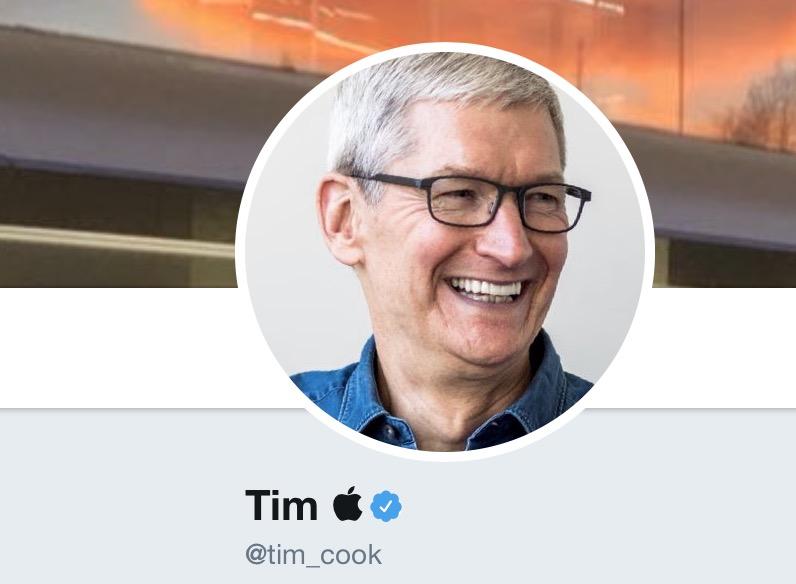 Bye bye Tim Cook, bonjour Tim Apple sur Twitter aussi ! 1