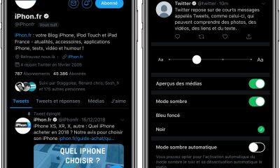App Twitter : comment activer un mode «sombre» adapté aux écrans OLED 35