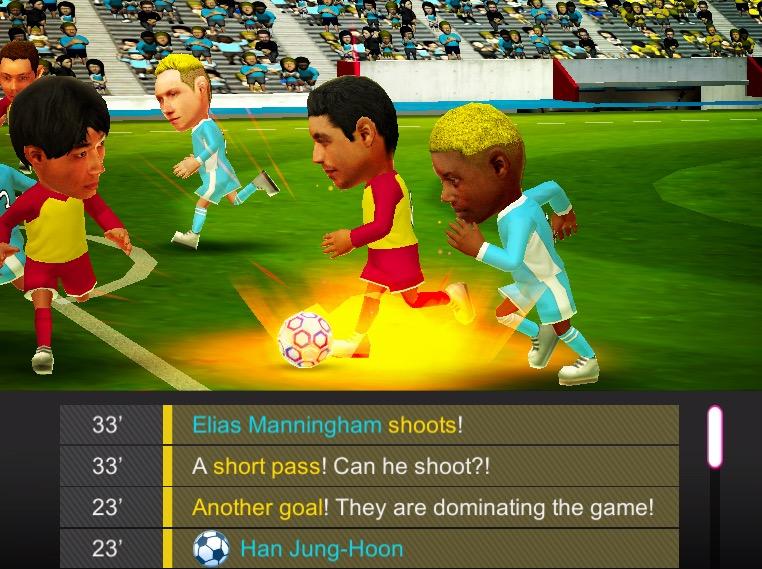 Sega mêle jeu de rôle et gestion de foot, dans Pocket Club Manager, nouveau jeu iPhone, iPad 1