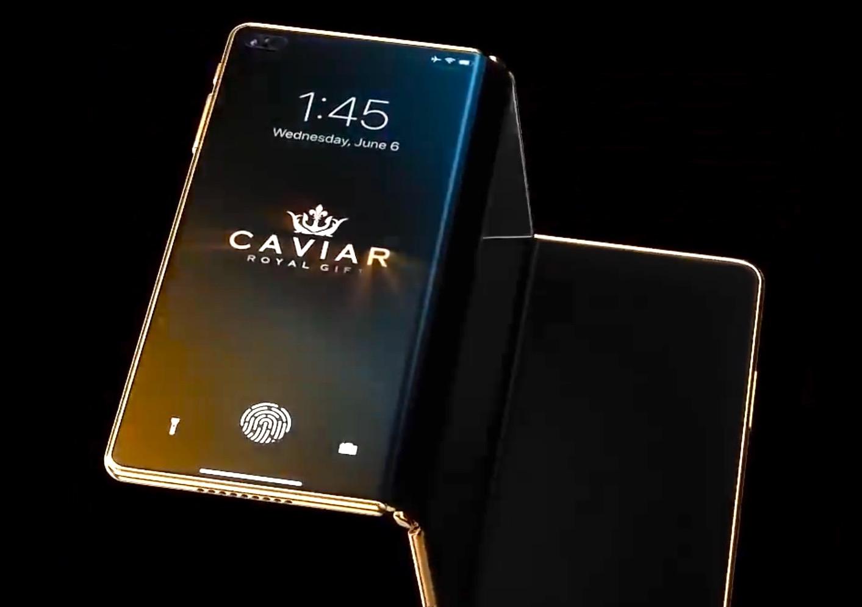 Concept : l'iPhone Z pliable en trois parties qui se déplie pour devenir iPad 1