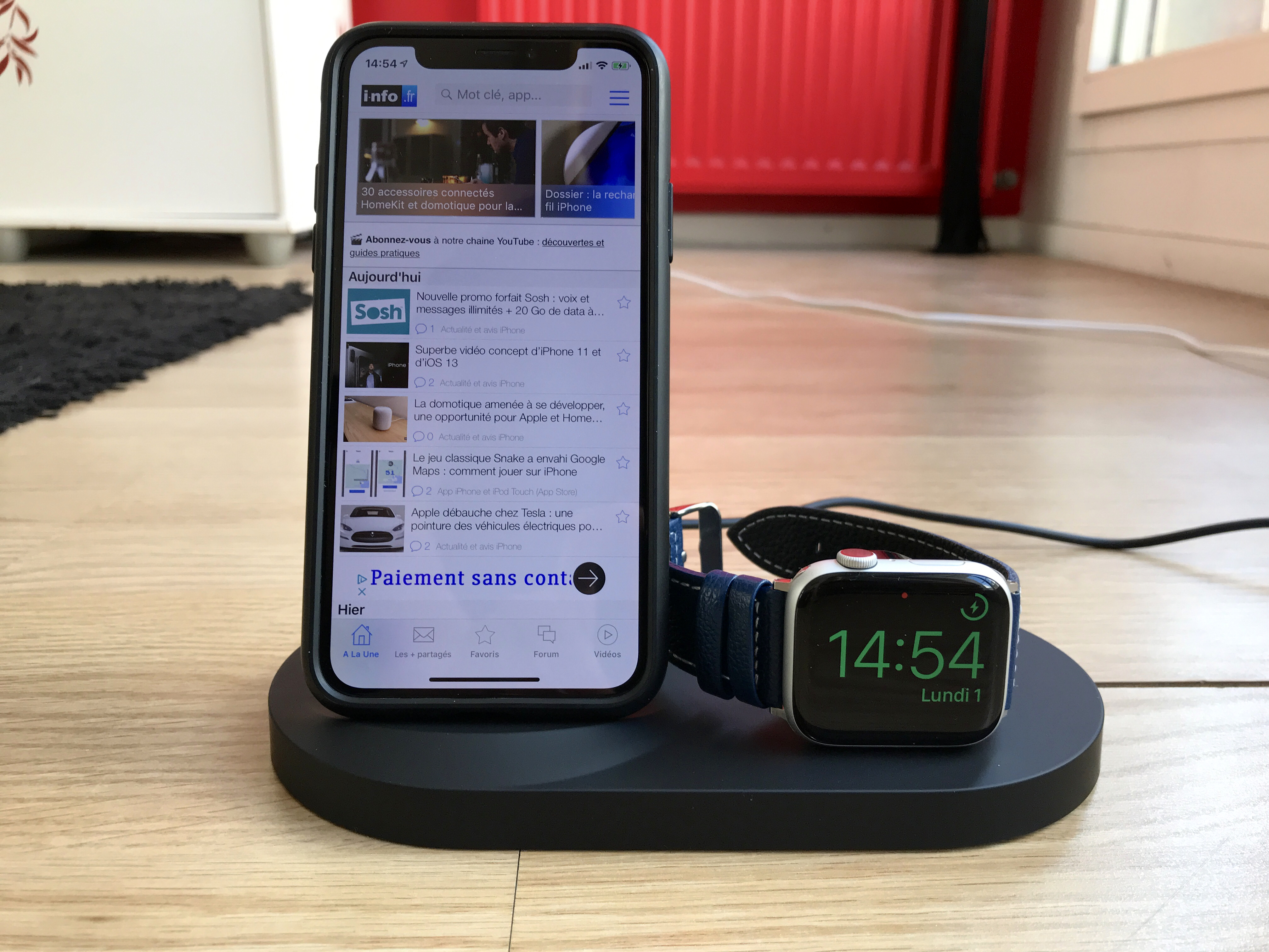 Test de la station de recharge Belkin « Boost Up » : une alternative au AirPower pour recharger iPhone, Apple Watch et AirPods 1