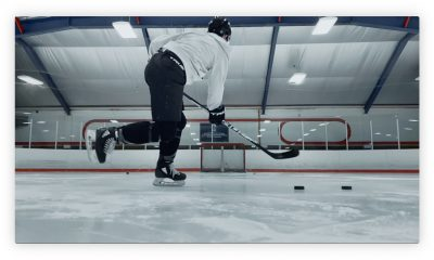 Le nouveau clip d'Apple, filmé à l'iPhone XS, s'intéresse aux joueurs de Hockey 15