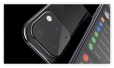 Nouveau concept 3D en vidéo pour imaginer les iPhone 2019 avec mode sombre et autres changements 17
