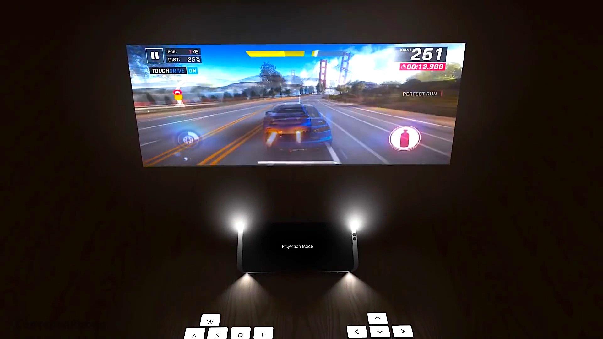 Écran géant et clavier projeté pour un concept d'iPhone futuriste (vidéo) 1