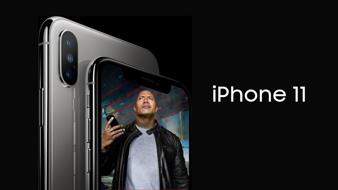 Superbe vidéo concept d'iPhone 11 et d'iOS 13 1