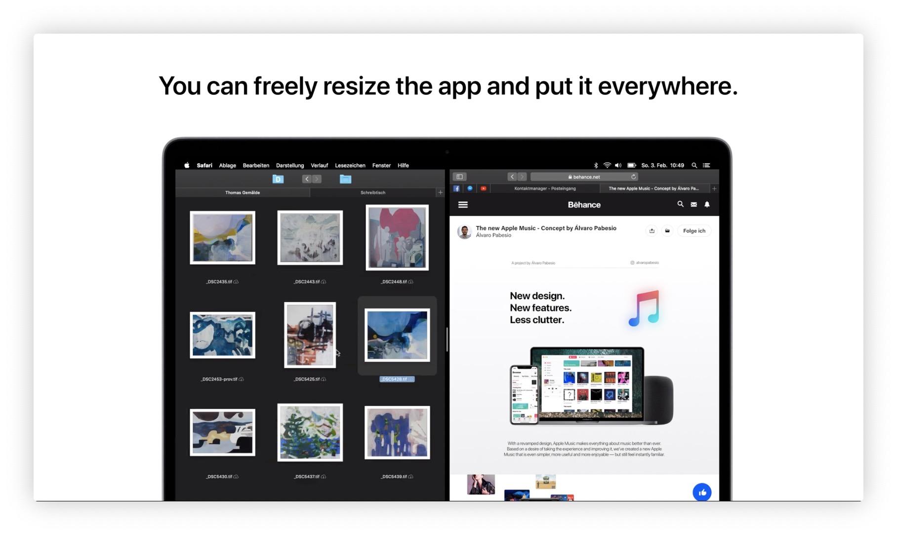 Et si MacOS empruntait à iOS ? Concept d'une interface originale à découvrir en vidéo 1