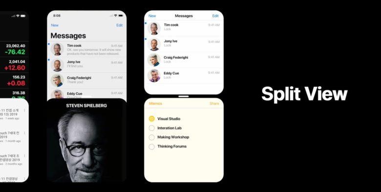 Concept en vidéo : superbe iPhone 2019 sous iOS 13, avec mode écran partagé ! 1