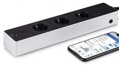 Eve Energy Strip : la multiprise connectée Homekit avec mesure de consommation et protection foudre est sortie 29
