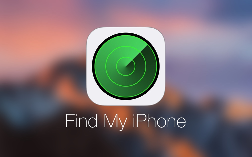 Application Find My ou Localiser