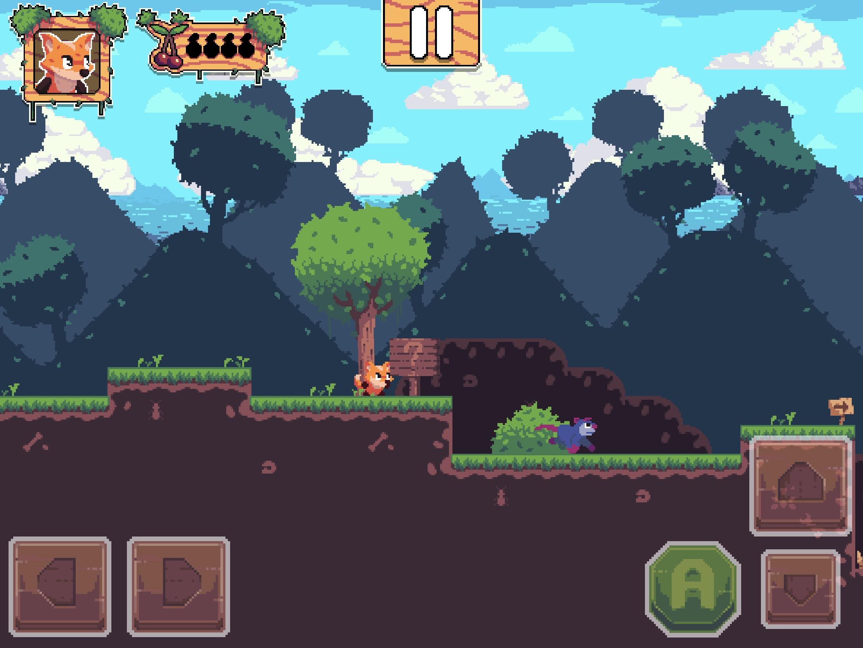 Test Foxyland 2 : belle aventure de plateforme 2D rétro, en solo ou à 2 sur iPhone et iPad 1