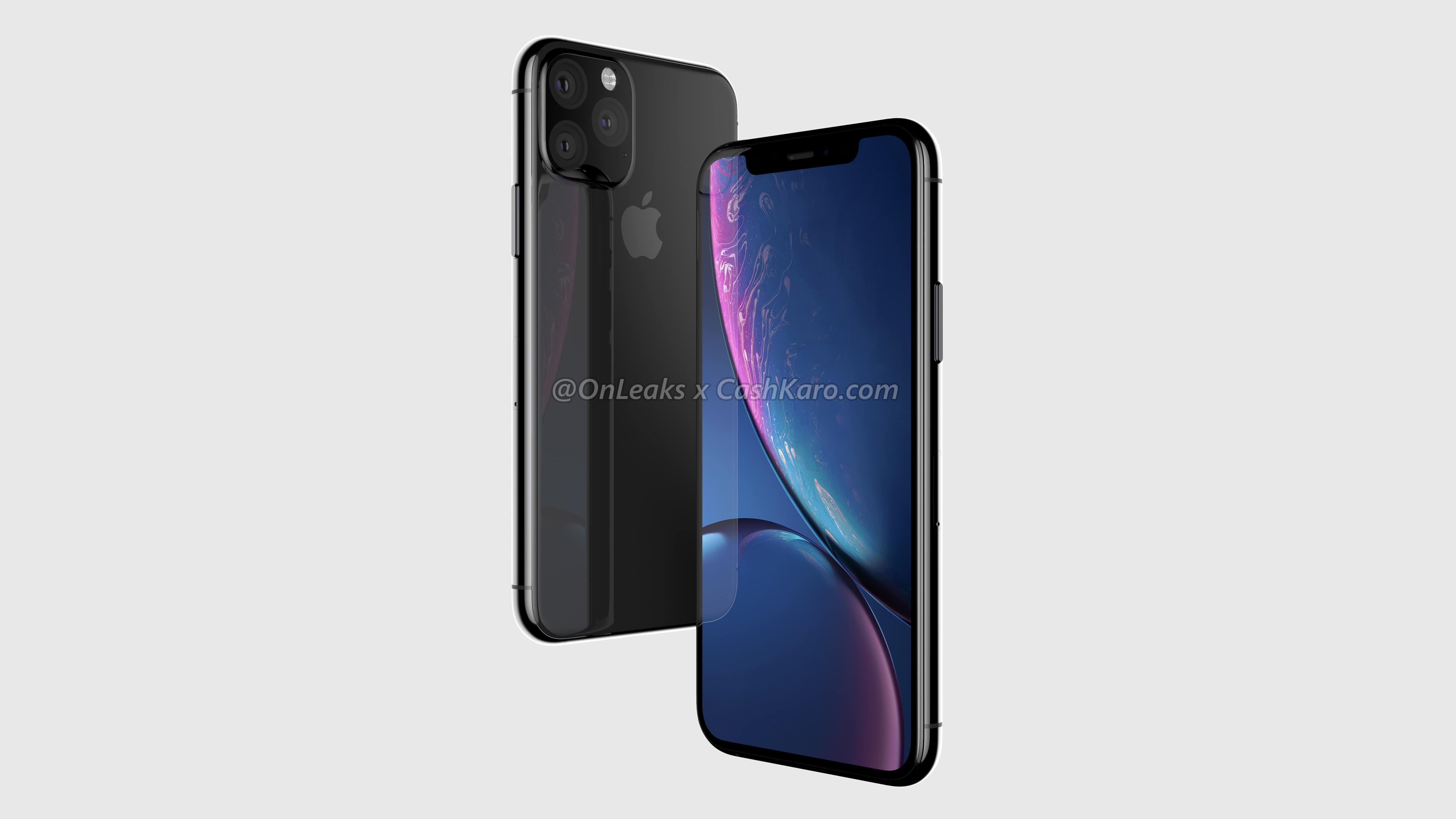 Les iPhones 2019 en images : arrière intégralement en verre, dimensions, etc. (vidéo) 1
