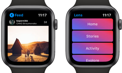 Lens : l'app qui affiche Instagram au poignet sur l'Apple Watch 3