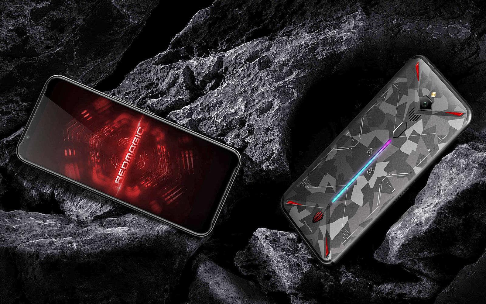 L'escalade : un smartphone gaming avec ventilateur et enregistrement video 8K 1