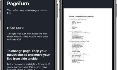 PageTurn : tourner les pages d'une partition avec la reconnaissance faciale sur iPhone, iPad 7
