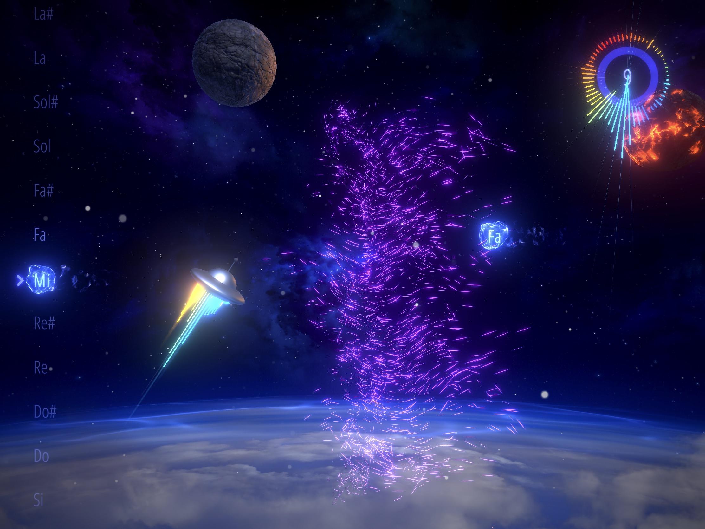Chantez juste pour esquiver les obstacles dans Sing&Fly, une aventure spatiale surprenante sur iPhone et iPad 1