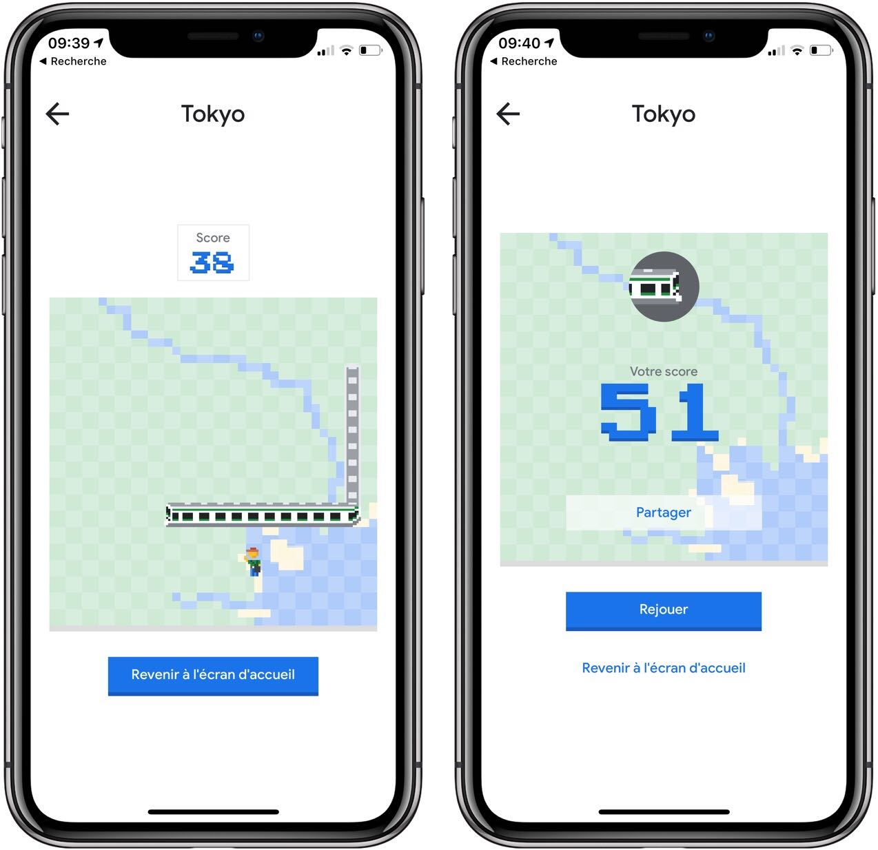Le jeu classique Snake a envahi Google Maps : comment jouer sur iPhone 1