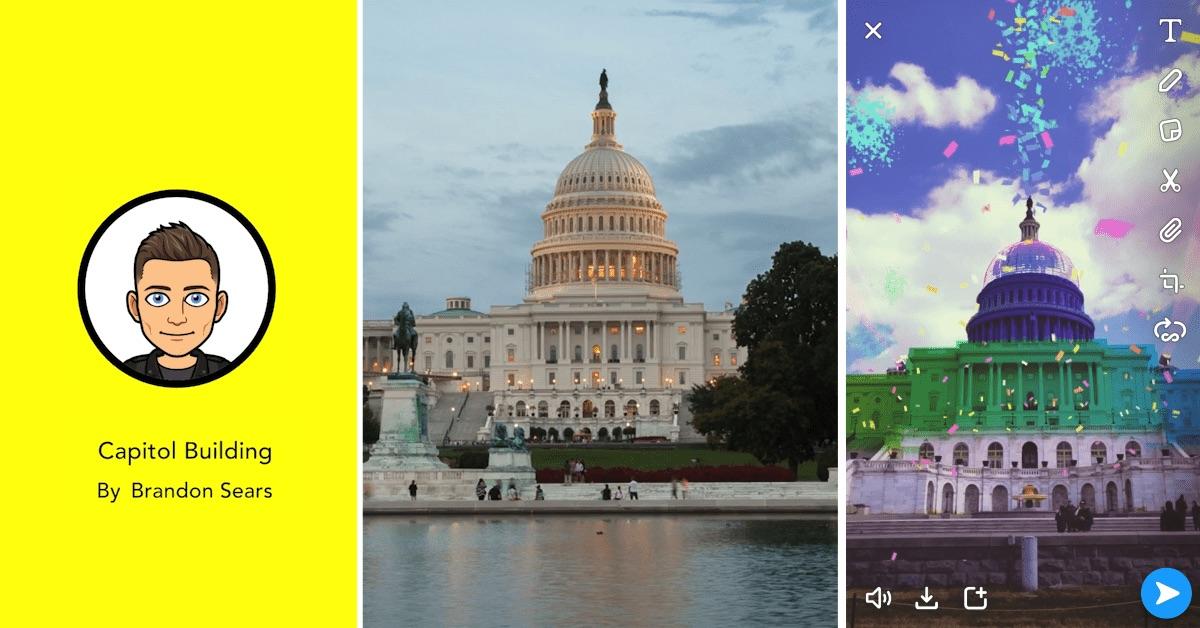 Snapchat fait le plein de nouveautés, réalité augmentée, plateforme de jeux et plus 1